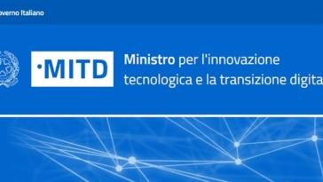 Ministro per l'innovazione tecnologica e la transizione digitale