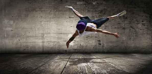 ballerino hip hop artista strada