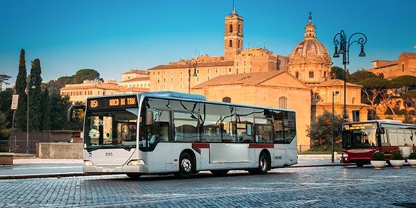 trasporti pubblici, autobus