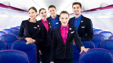 wizz air assistenti di volo