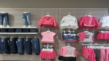 negozio, bimbi, abbigliamento