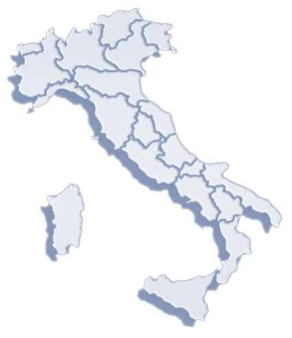 Mappa cliccabile dell'Italia